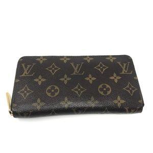 100% Auth Louis Vuitton Zippy Wallet CA1006